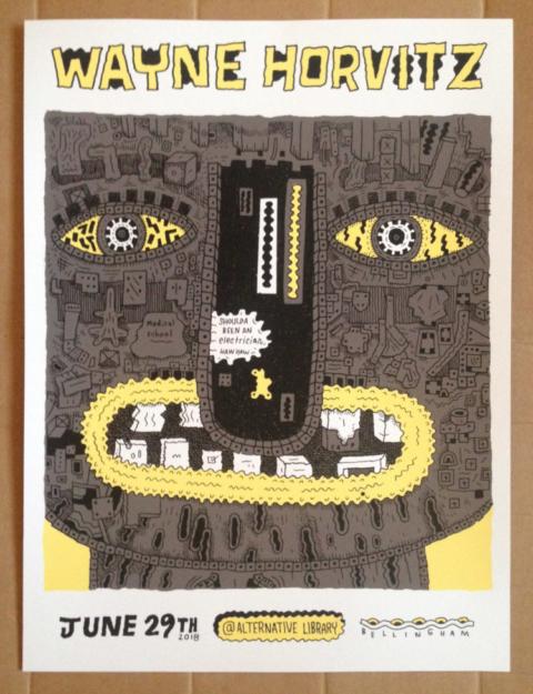Wayne Horvitz Poster (Marc Bell)