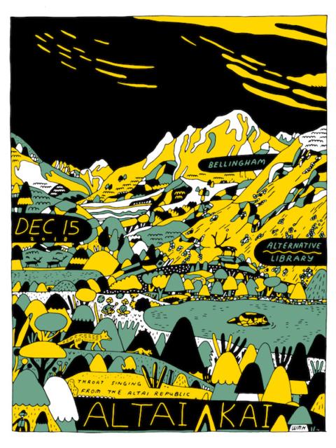 Altai Kai Poster (Wyatt Hersey)