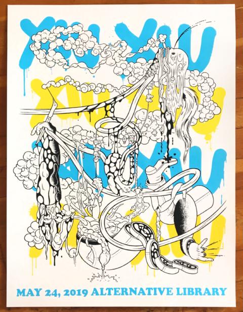 test2Xiu Xiu Poster (Ben Duncan)