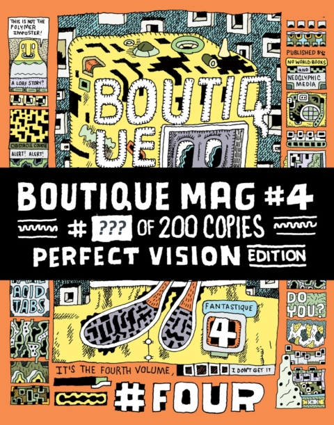 Boutique Mag #4 (Perfect Vision Edition)