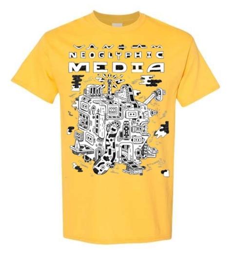 Neoglyphic Media T-Shirt (Marc Bell)